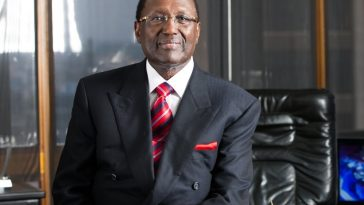 Chris Kurubi, one of the richest businessman in Kenya