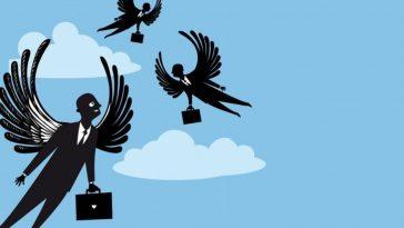 Angel investor animated graphics